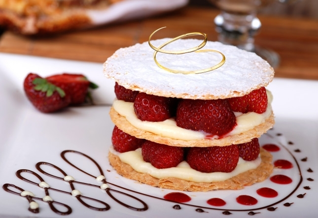 146965151 - Dessert, Strawberry tart